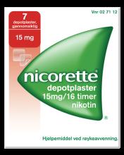NICORETTE® depotplaster